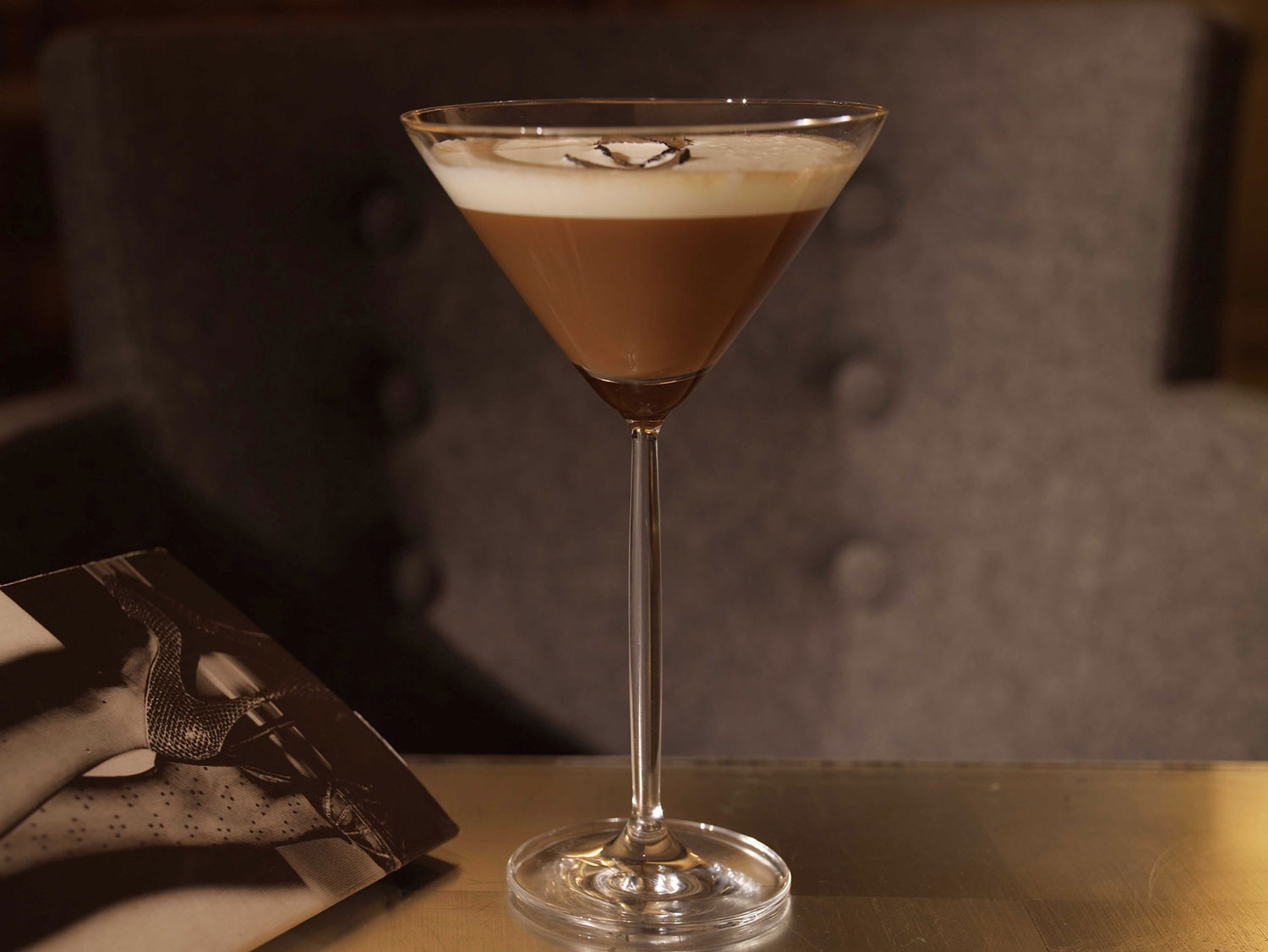 Dairy free milk chocolate protein martini recipe
