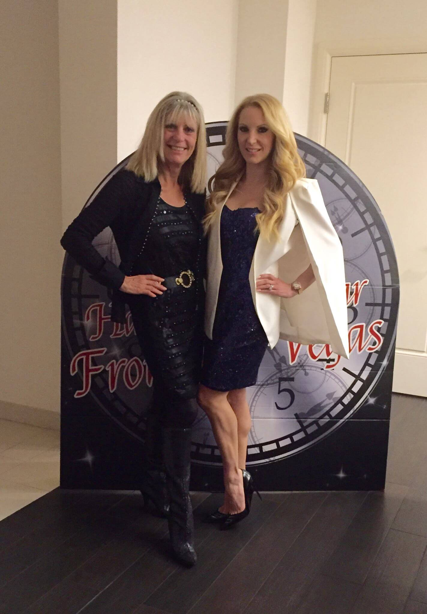 health and fitness pro Eve Dawes and Mum New Years Eve Glamour Gains