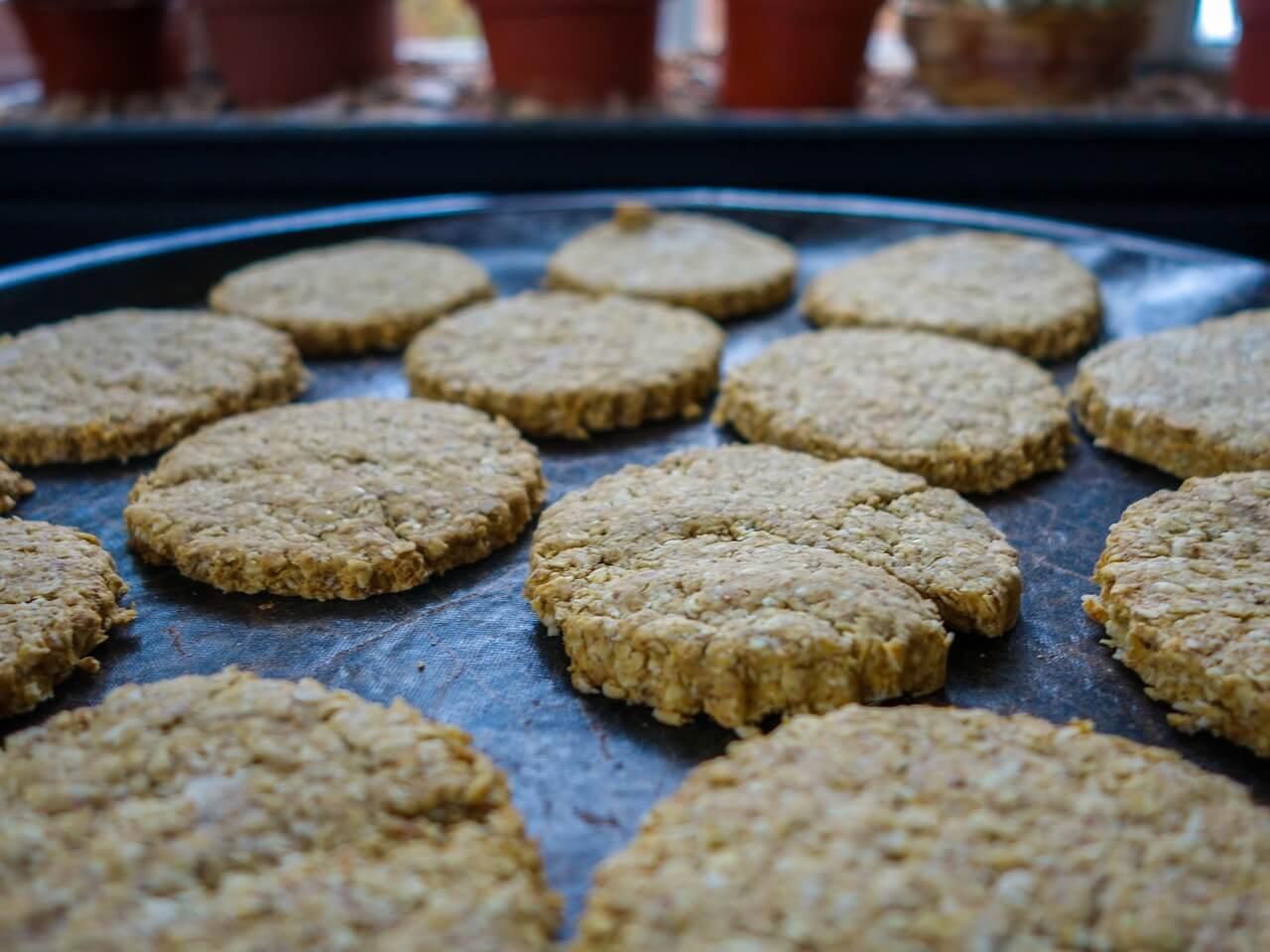 healthy fresh baked oatcakes