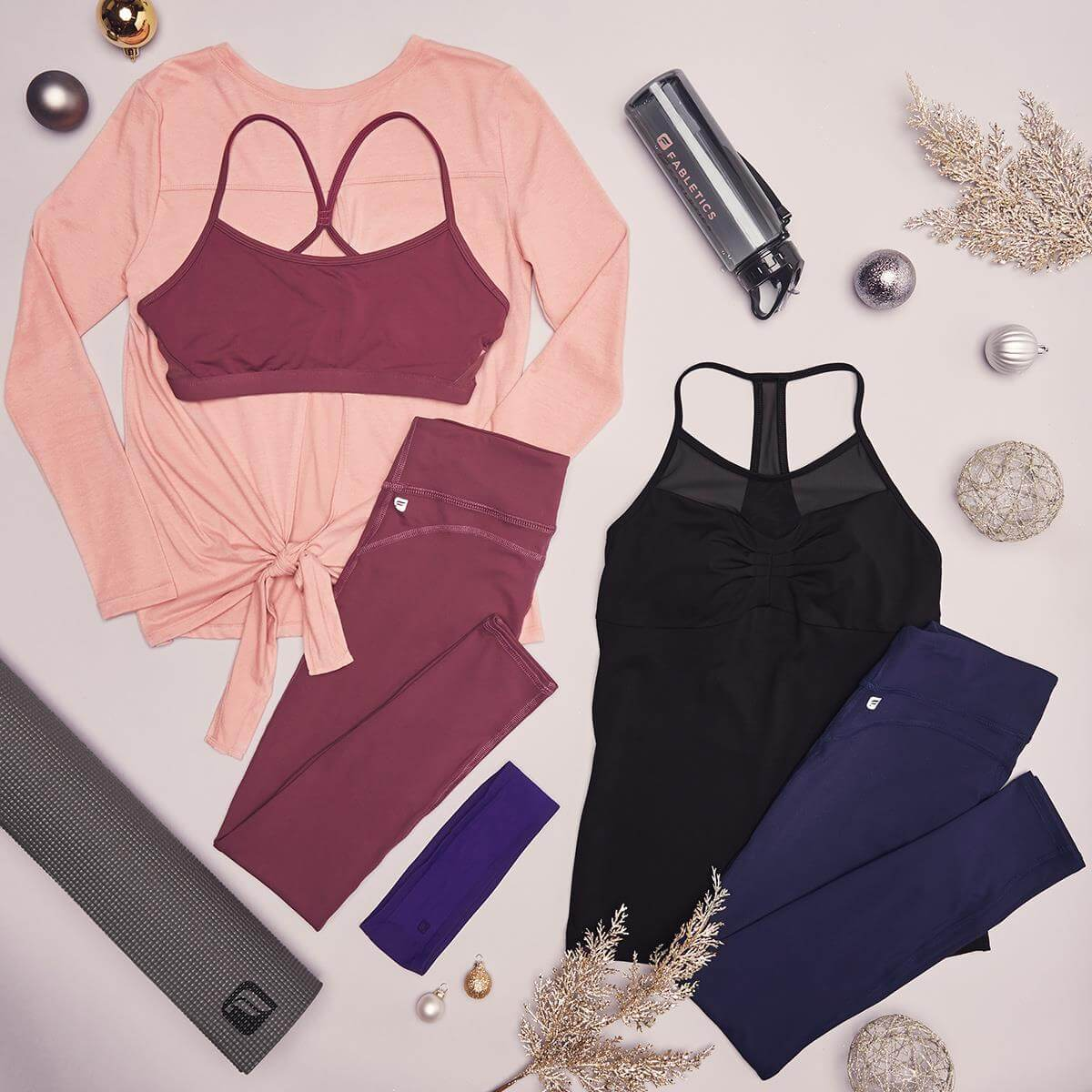 Fabletics reviews curated workout outfits
