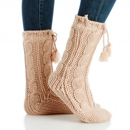 Snuggle up in these all day and all night.