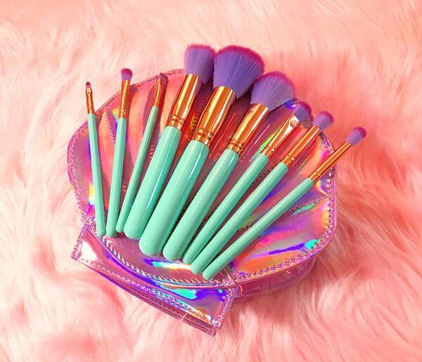 Pretty mermaid brushes for the girly girls