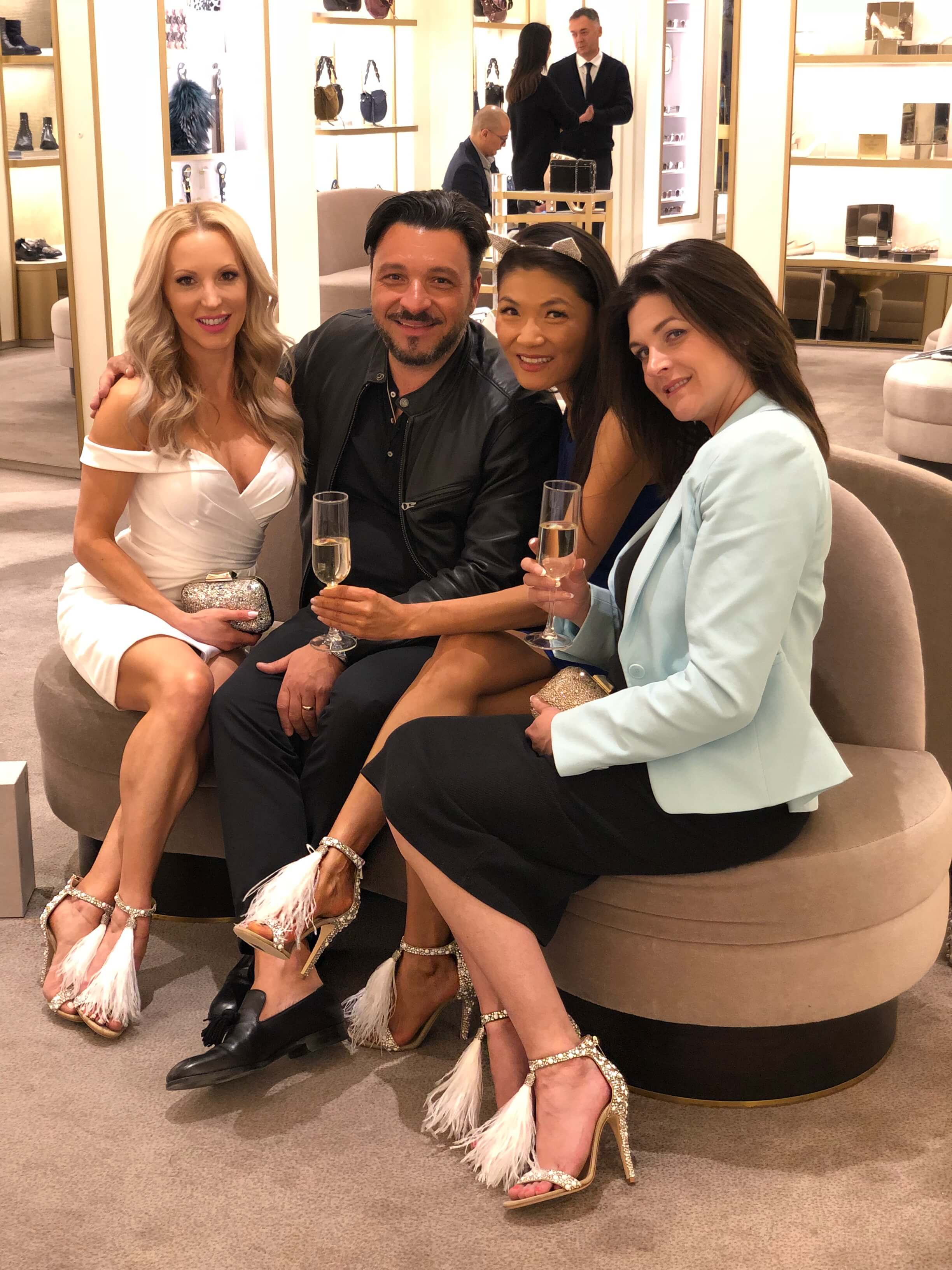 Jimmy Choo Gives Back - In Association With Eve Dawes