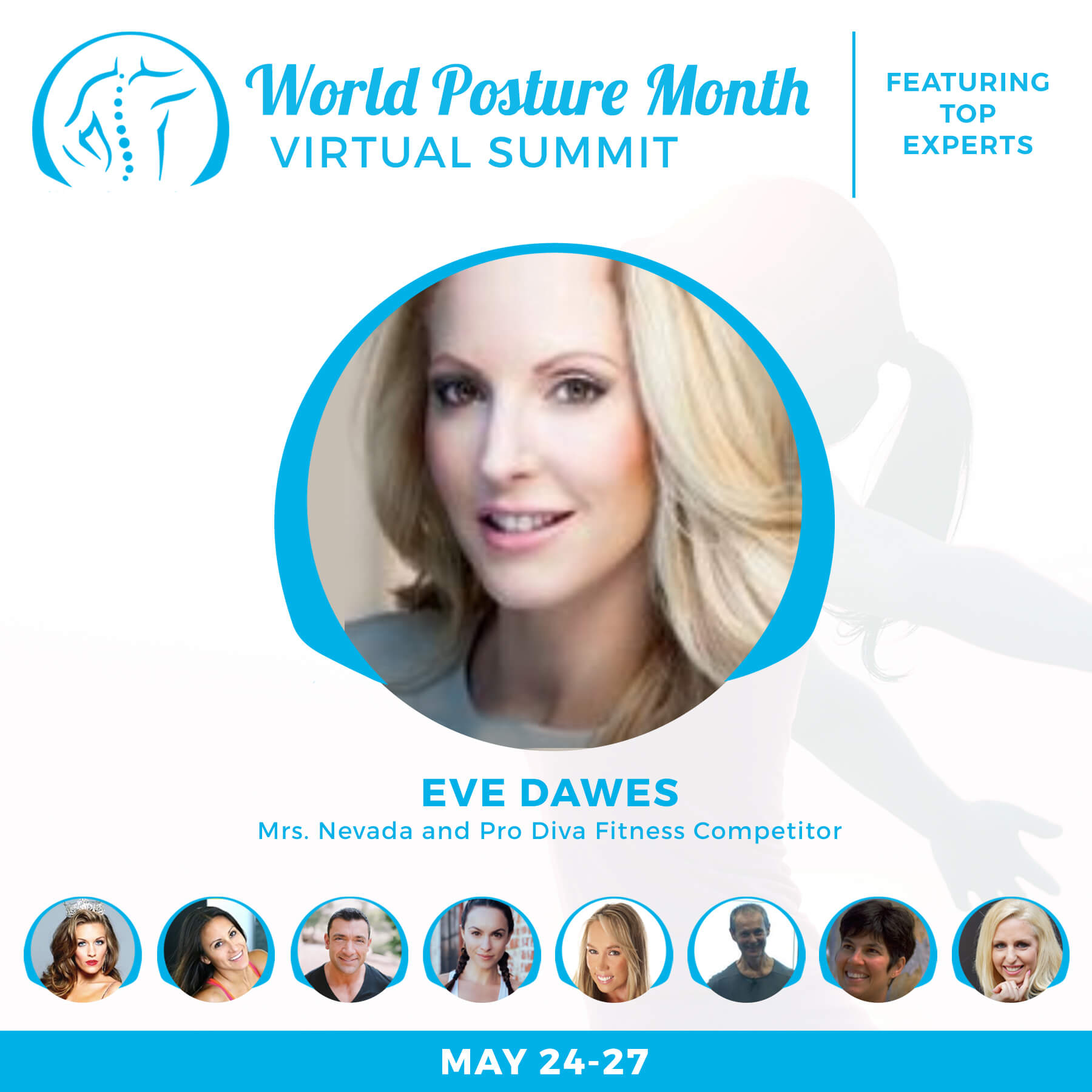 World Posture Month Virtual Summit 2018 Presenters.