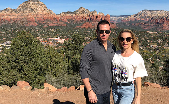 Breathtaking Sedona views with Lewis