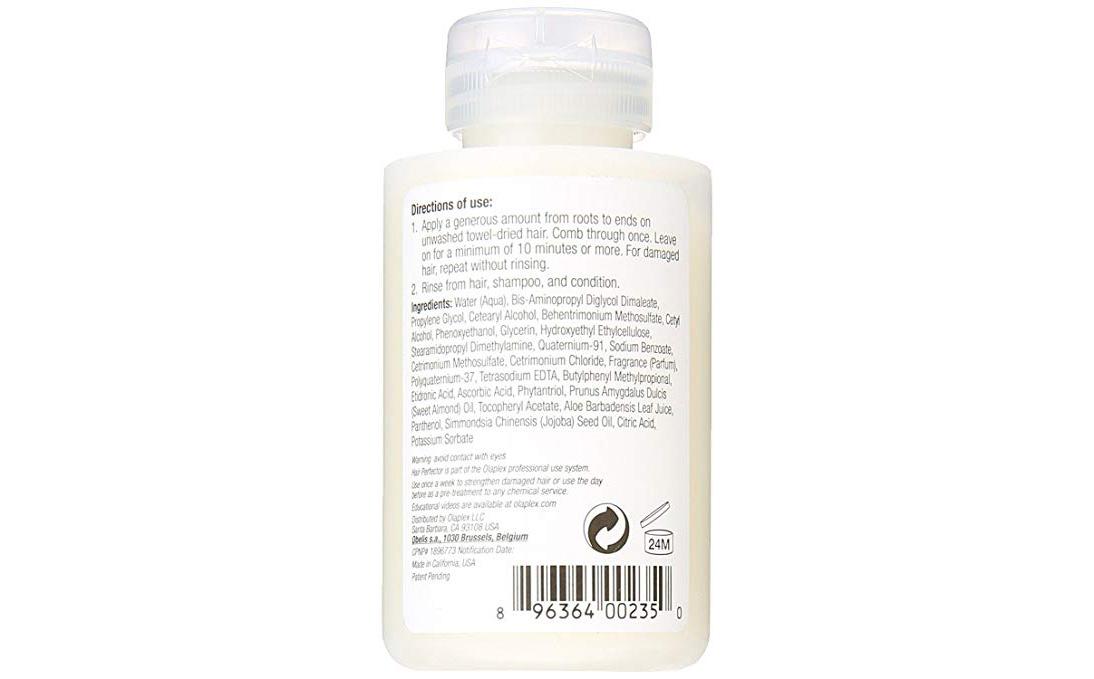 Olaplex Hair Perfector No. 3  Ingredients