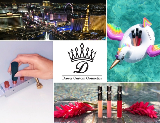 Dawes Custom Cosmetics Custom Lipstick Bar Las Vegas.