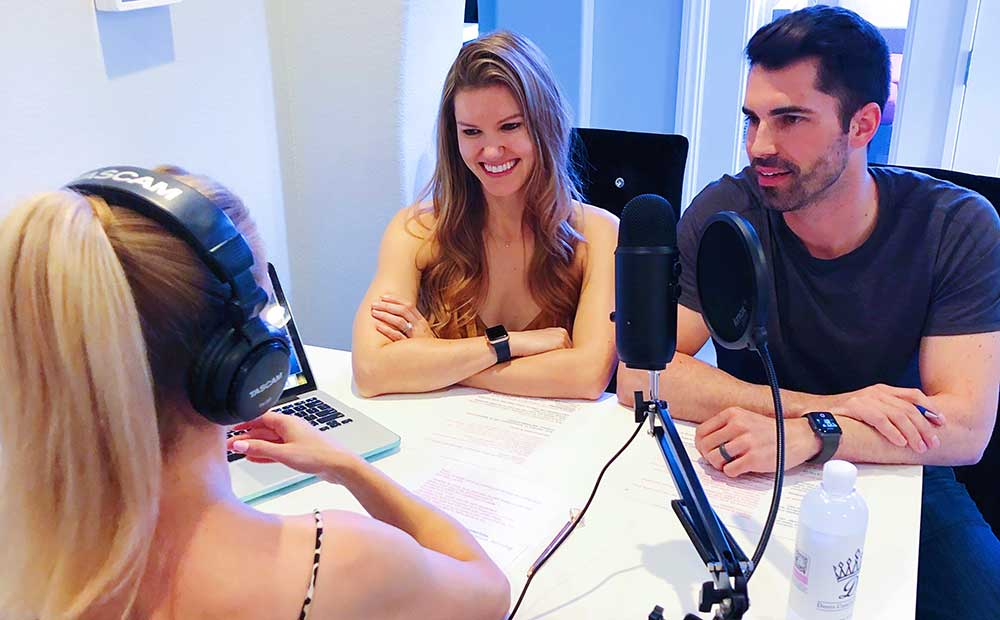 Healthy lifestyle tips from guests on Glamour Gains Podcast