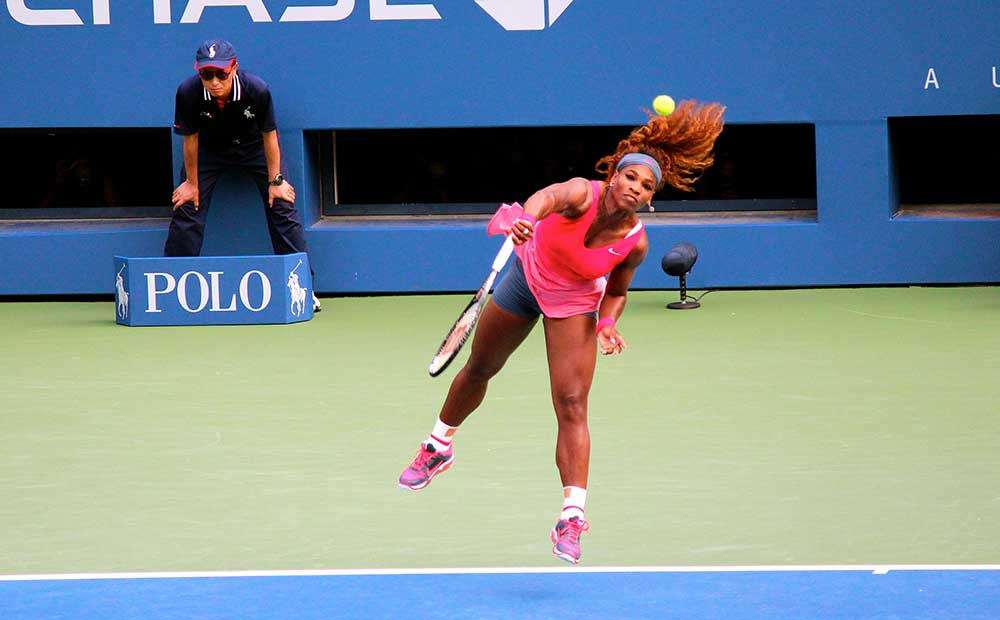 Serena Williams, Tennis. Olympic Gold Medalist