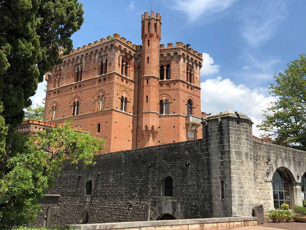 Barone Ricasoli Tuscany winery castle