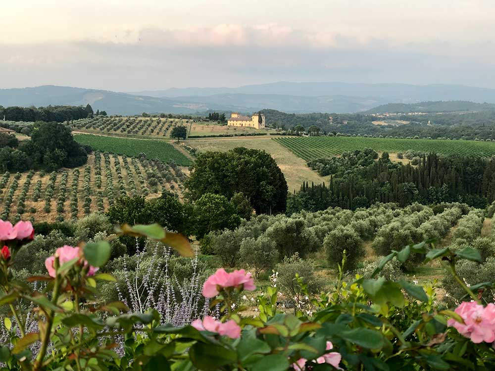 Beautiful Tuscan views Como Castello del Nero