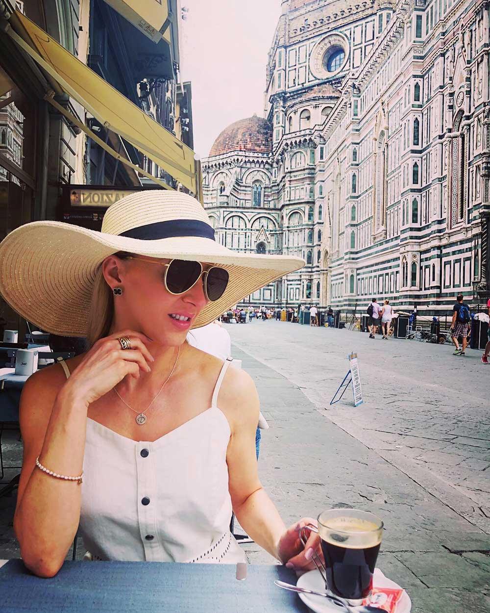 Florence Cafe Best Views Duomo Eve espresso