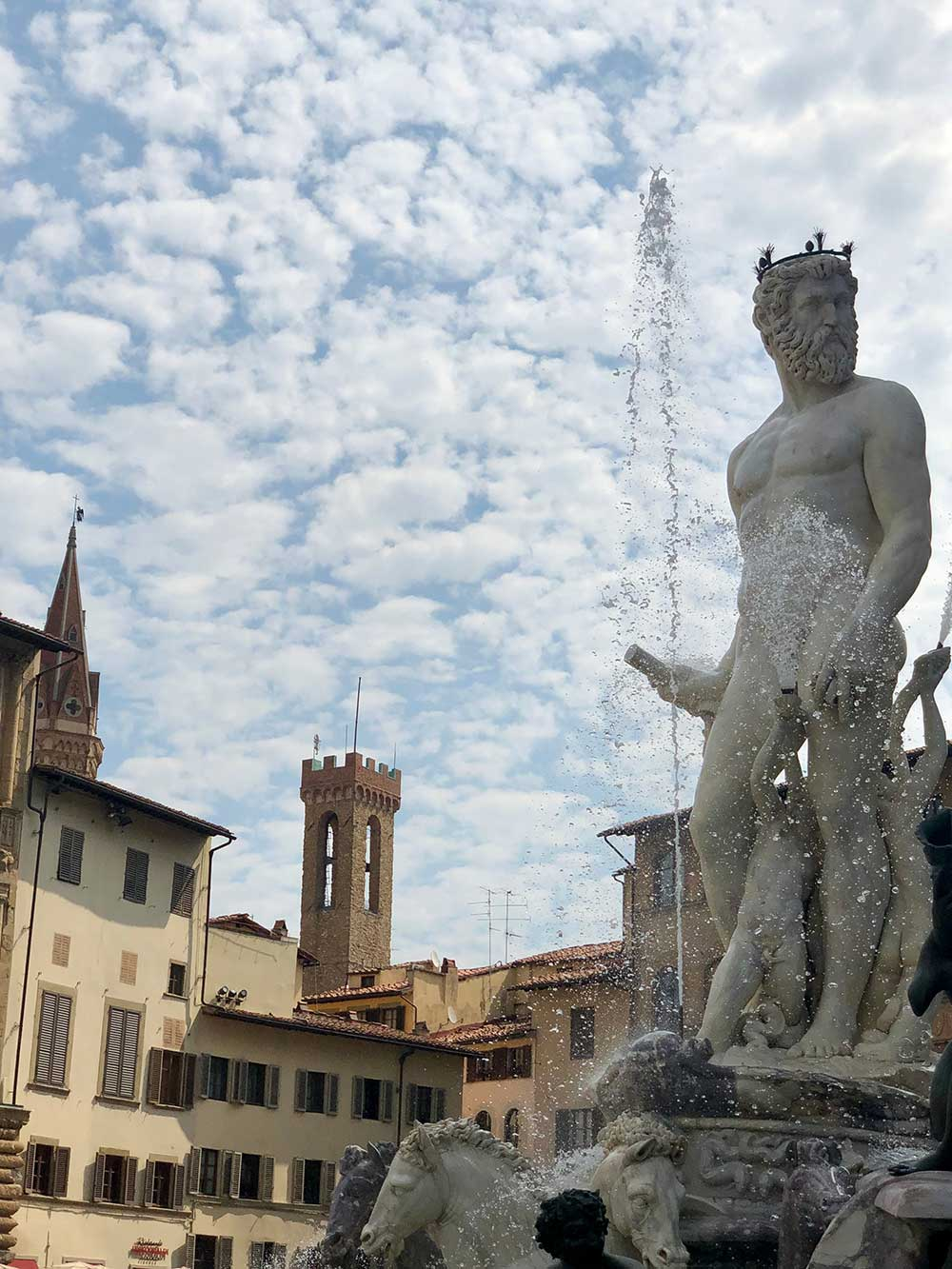 Neptunes Fountain Florence Italy things to do