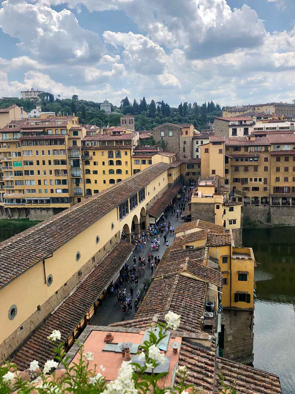 La Terrazza Hotel Continentale Florence Rooftop Bar View