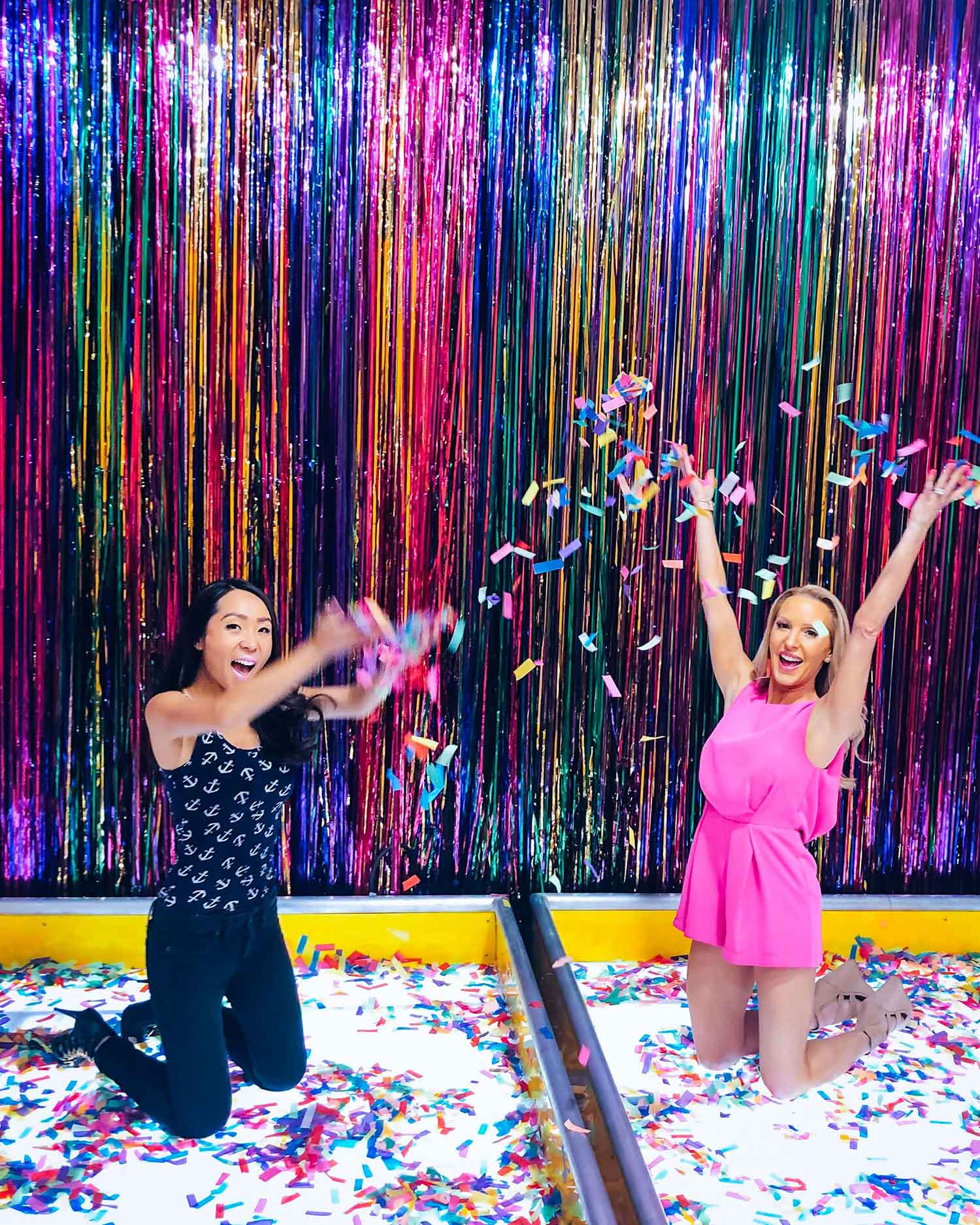 Happy Place Vegas Confetti room