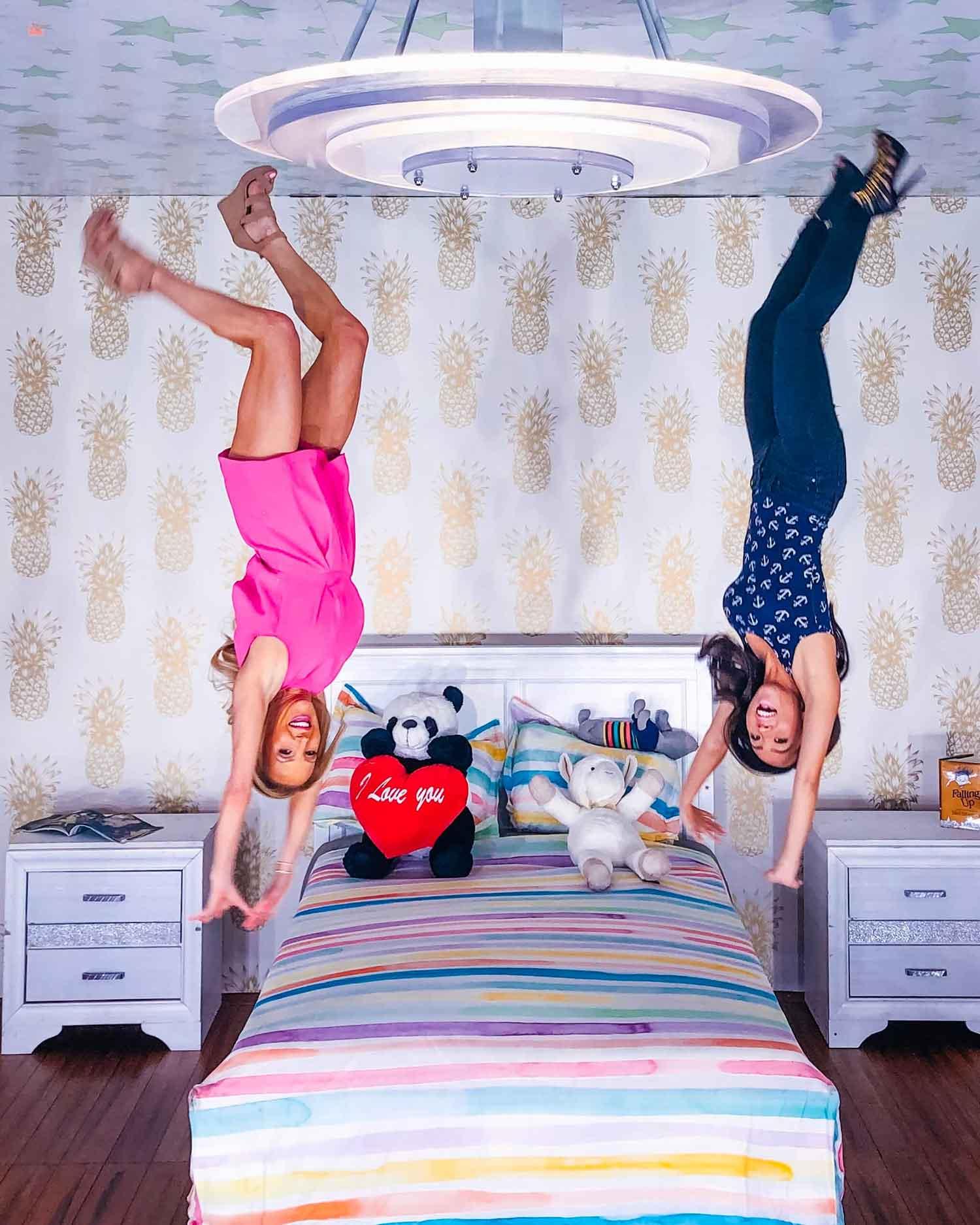 Upside Down Room Happy Place Vegas
