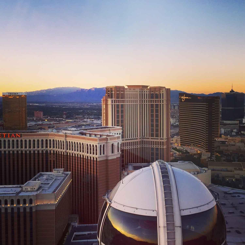 Las Vegas photo of Sunset Views from Vegas High Roller