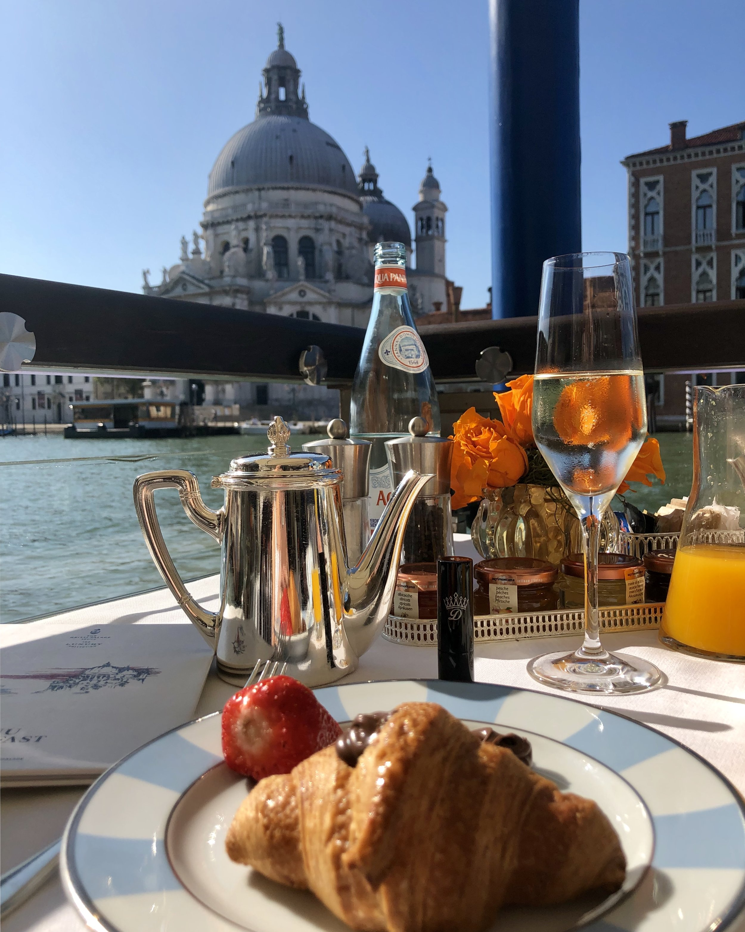Breakfast at The Gritti Palace Luxury Hotel Venice