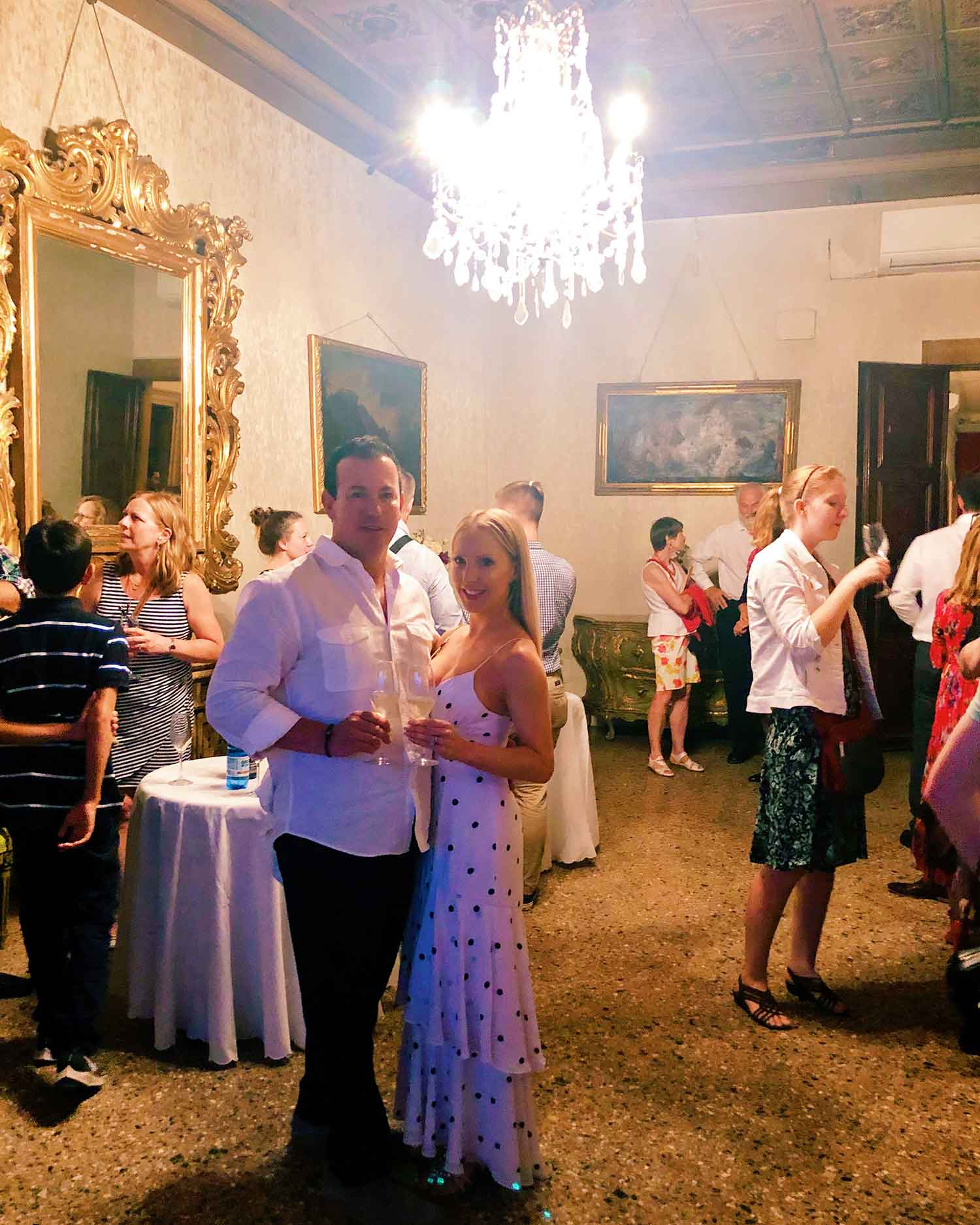 Musica Palazzo Opera Venice Italy Eve husband prosecco romantic evening