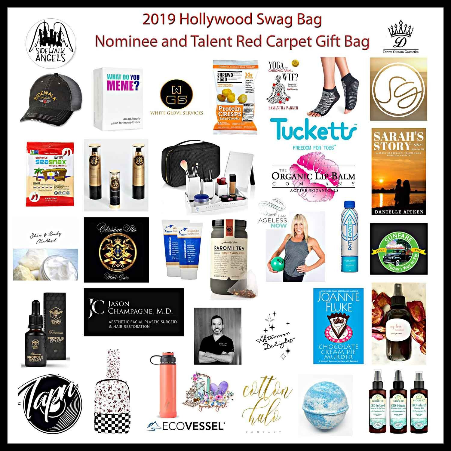 Emmys 2019 awards gift bag contents