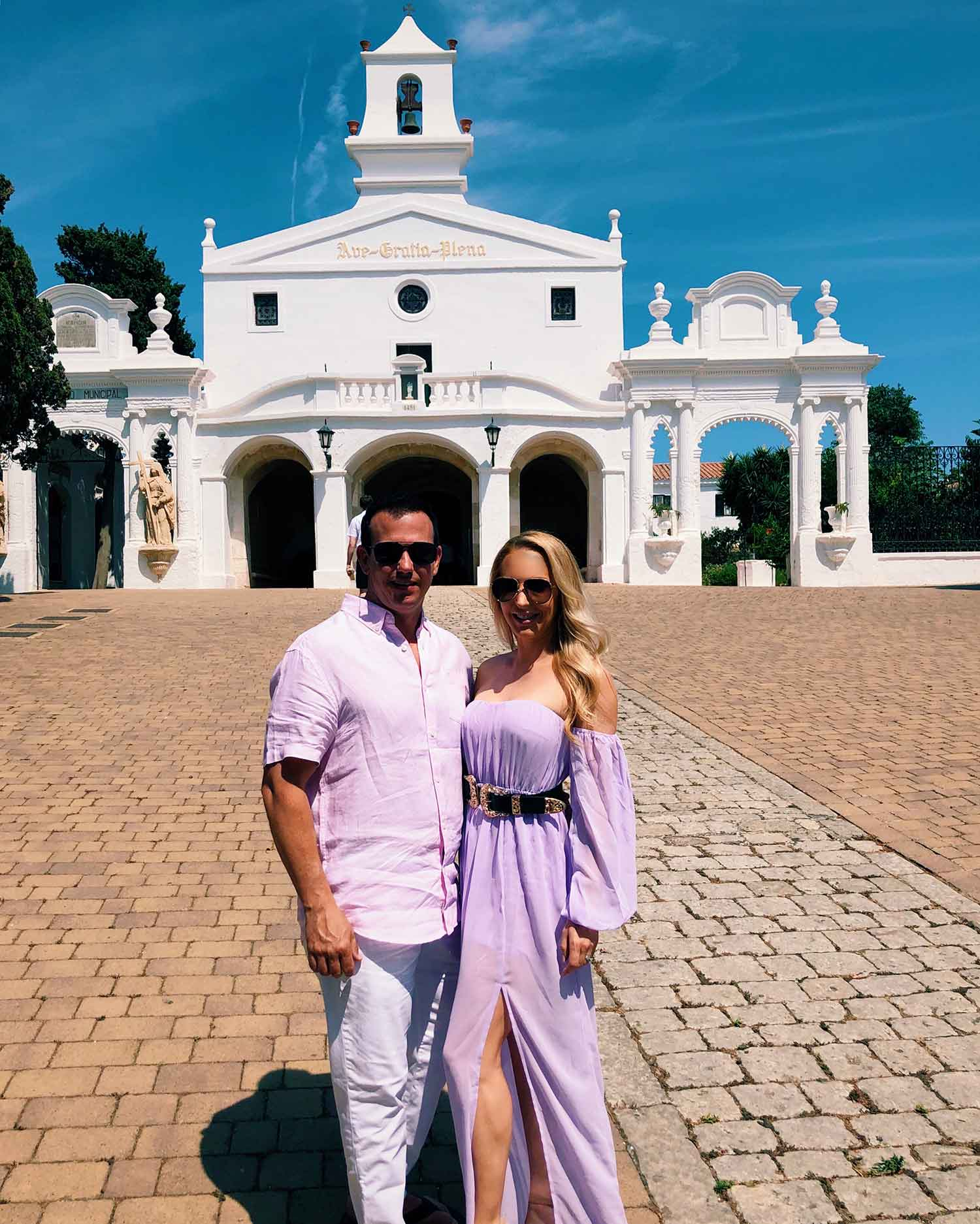 Eve husband white church Mahon Menorca