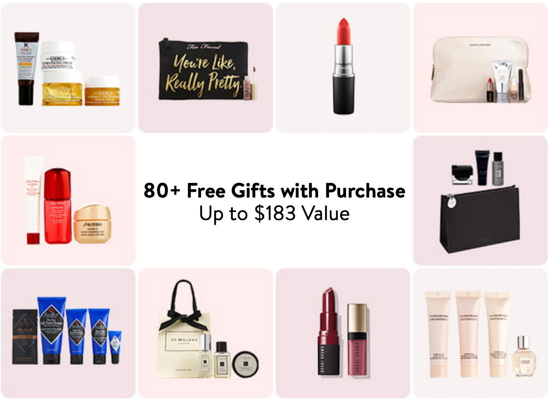 Nordstroms gifts collage cruelty free beauty skincare