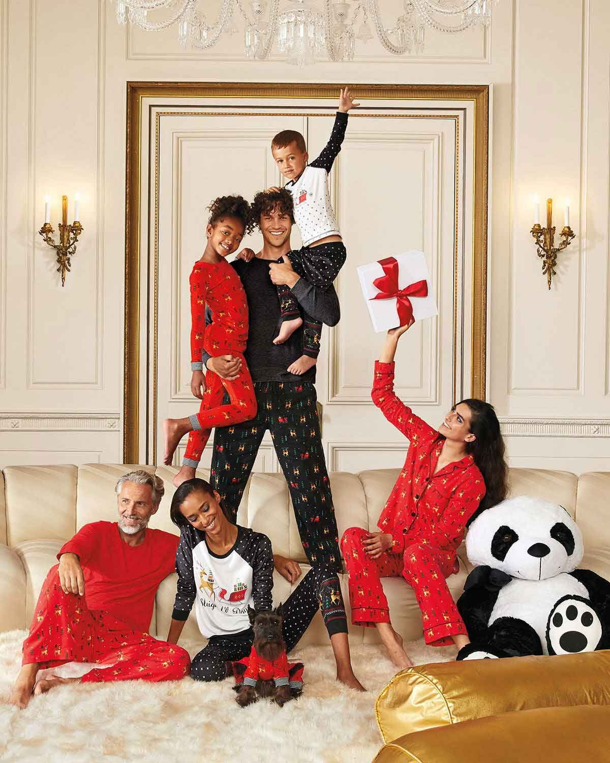 Neiman Marcus gifts family celebrating together
