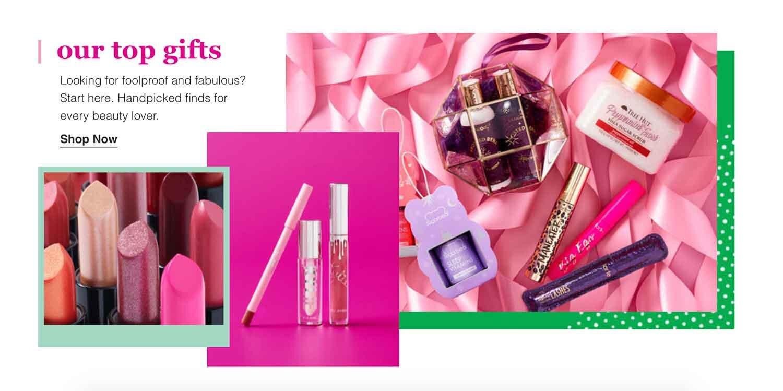 Ulta top gifts lipsticks lipglosses and facecream