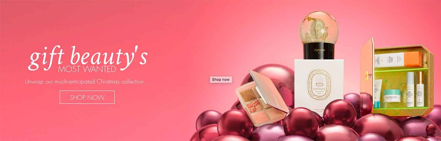 SpaceNK most wanted gifts perfumes makeup beauty
