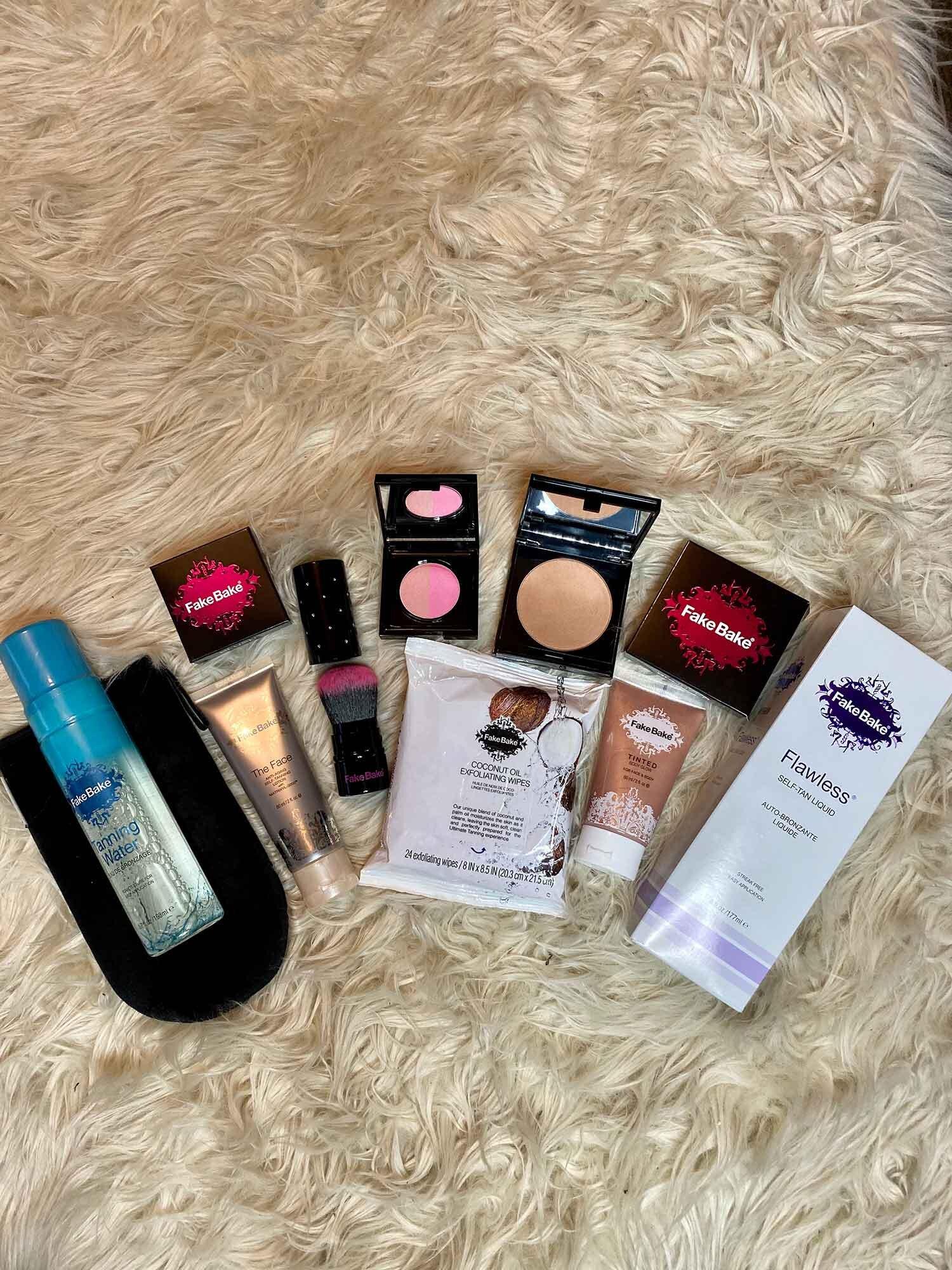 Fake Bake self tanning beauty gift set