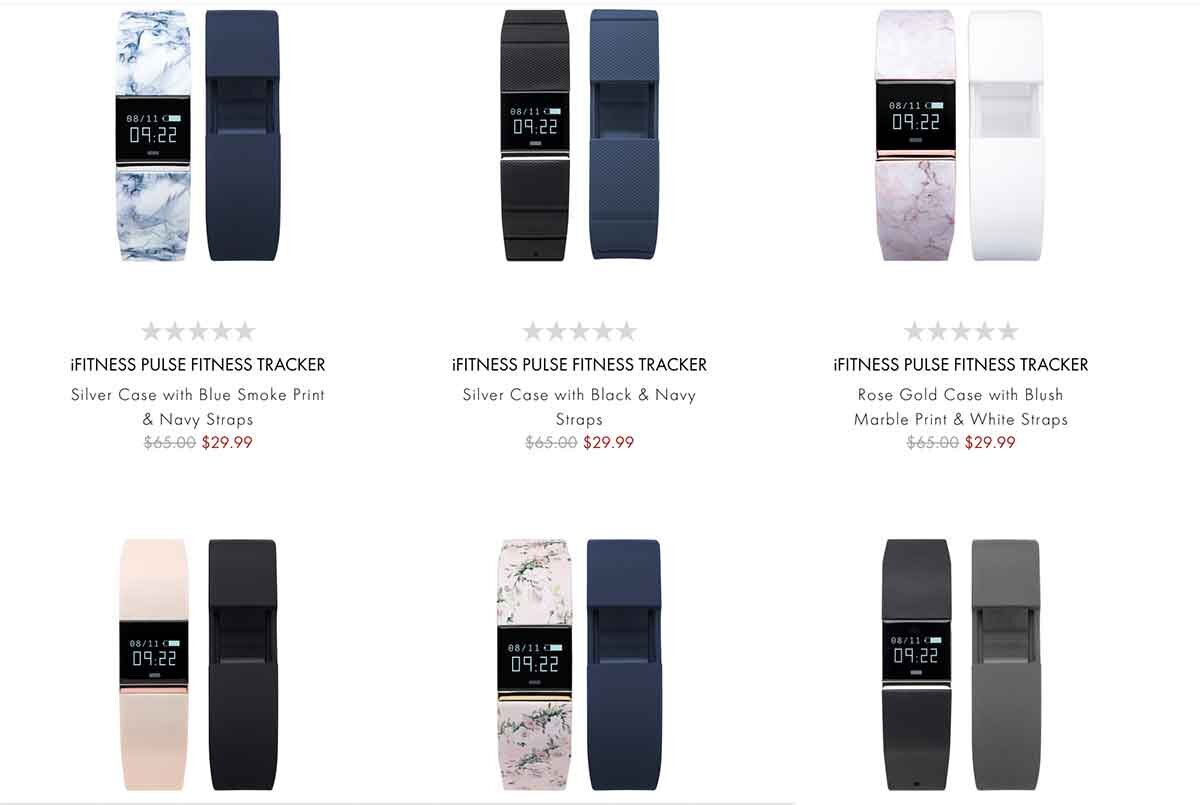 iTouch Wearables fitness tracker watch collection
