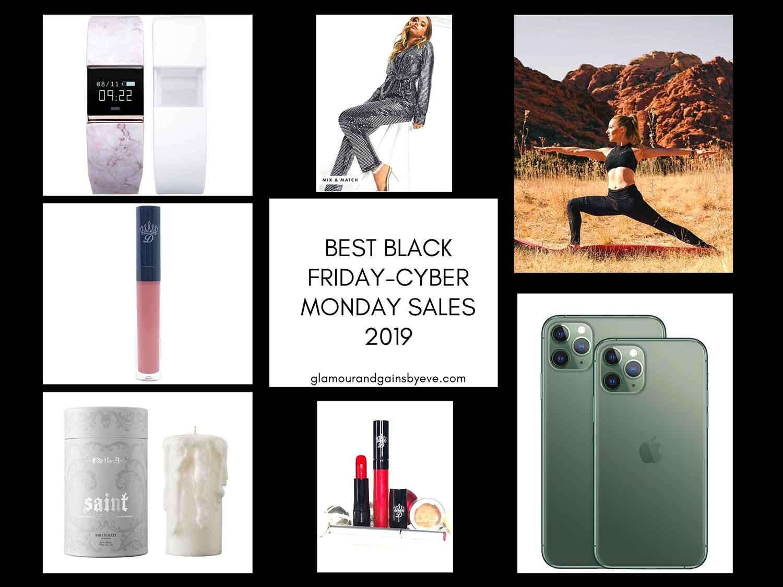 black friday sales collage