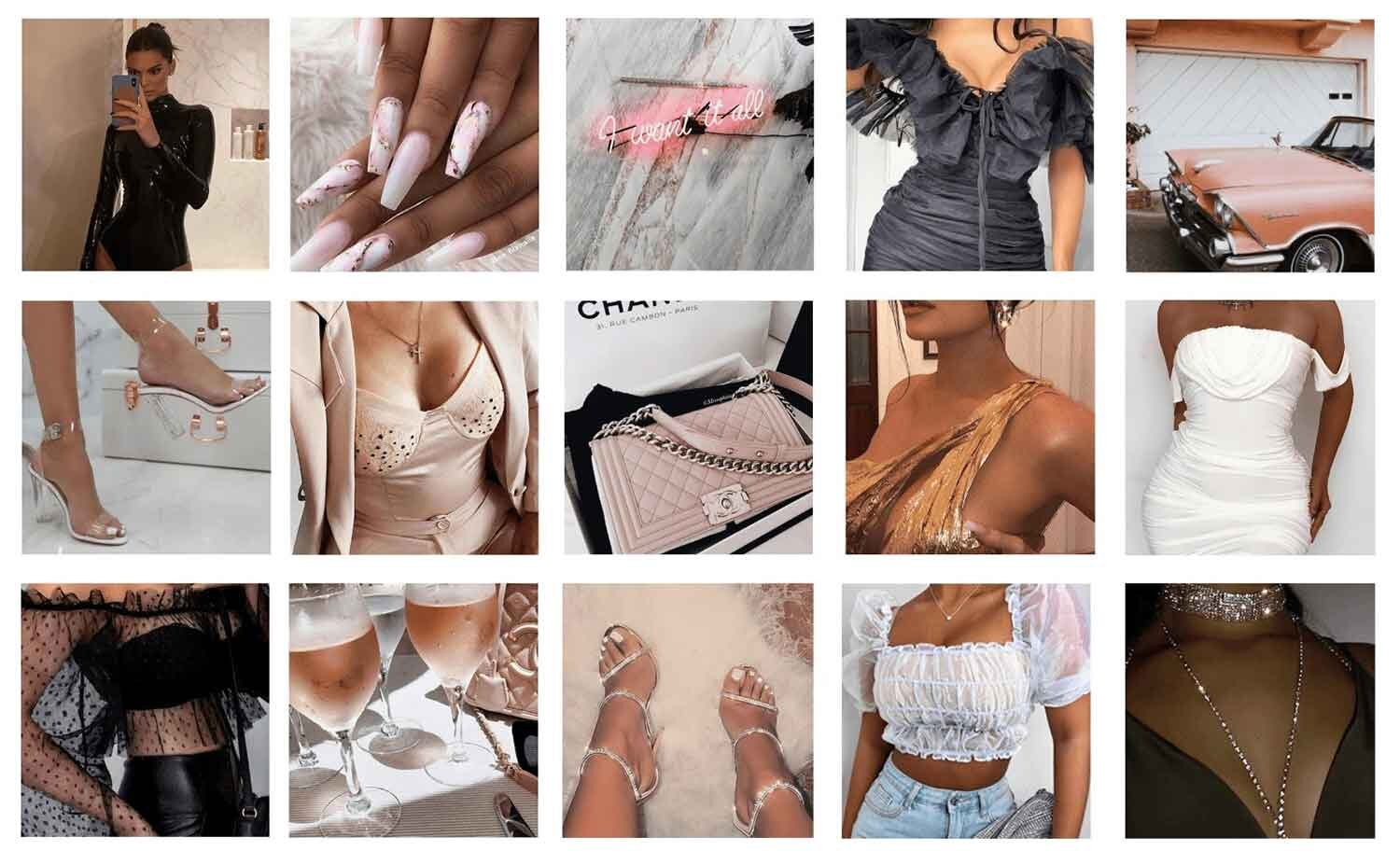 Best of Femme Luxe Finery collage