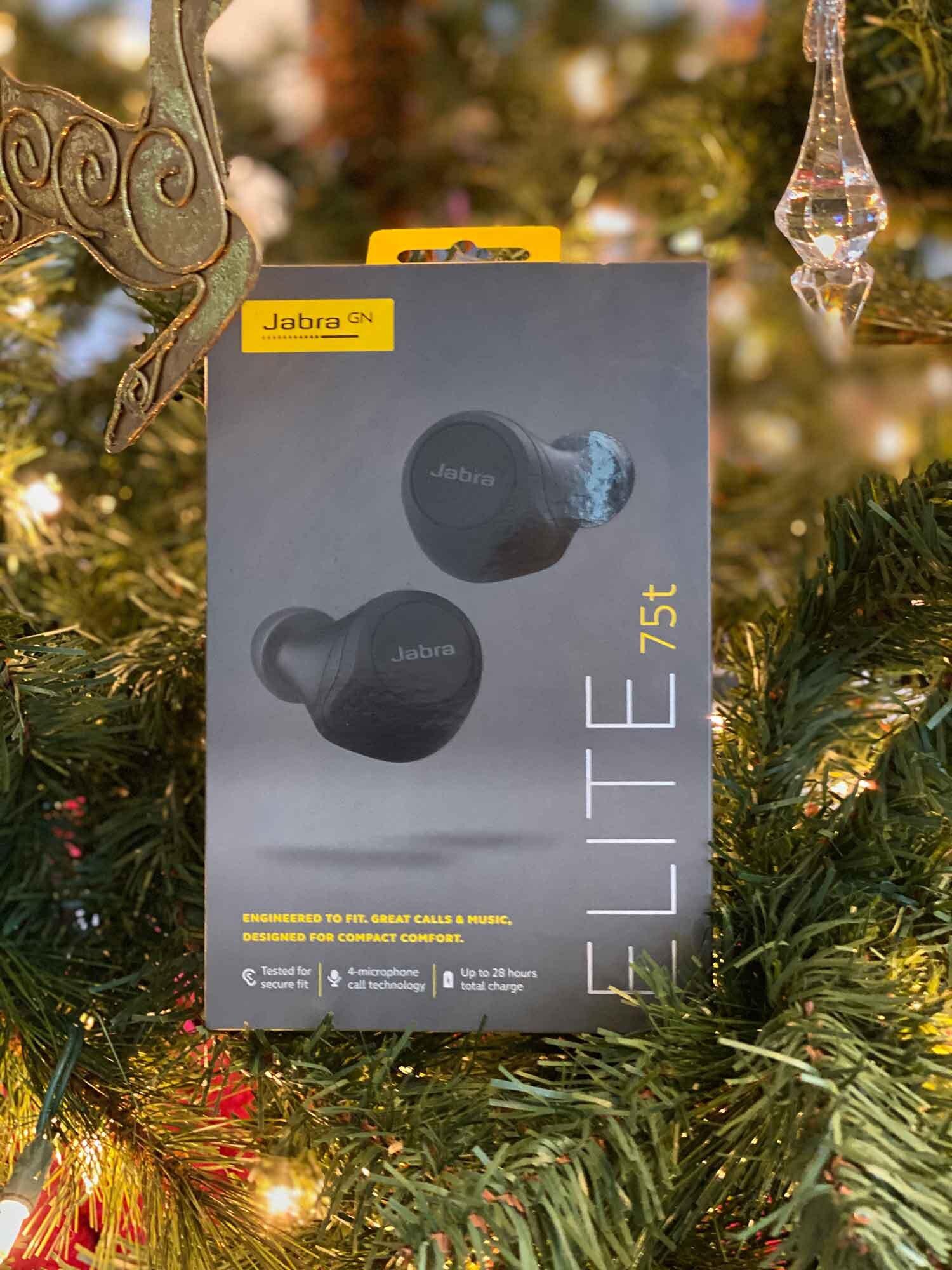 Jabra elite 75 bluetooth headphones Christmas tree