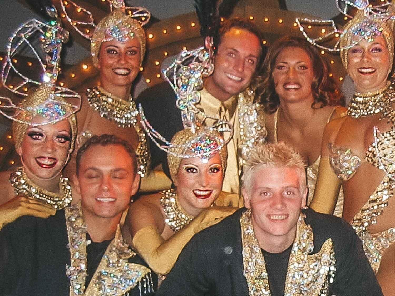 glitter lip gloss showgirl cast