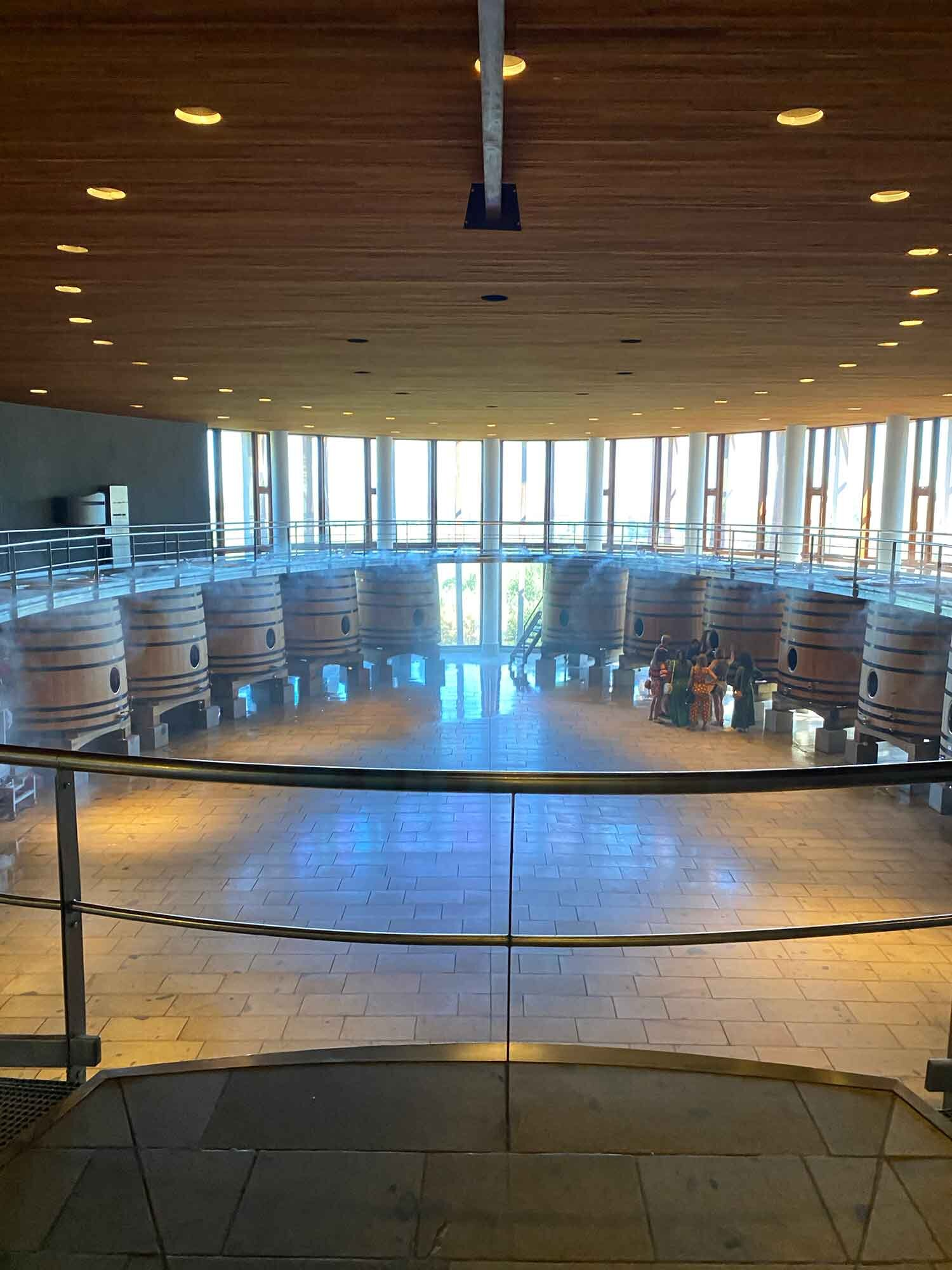 Clos Apalta / Lapostelle Winery Tour, Colchagua Valley, Chile