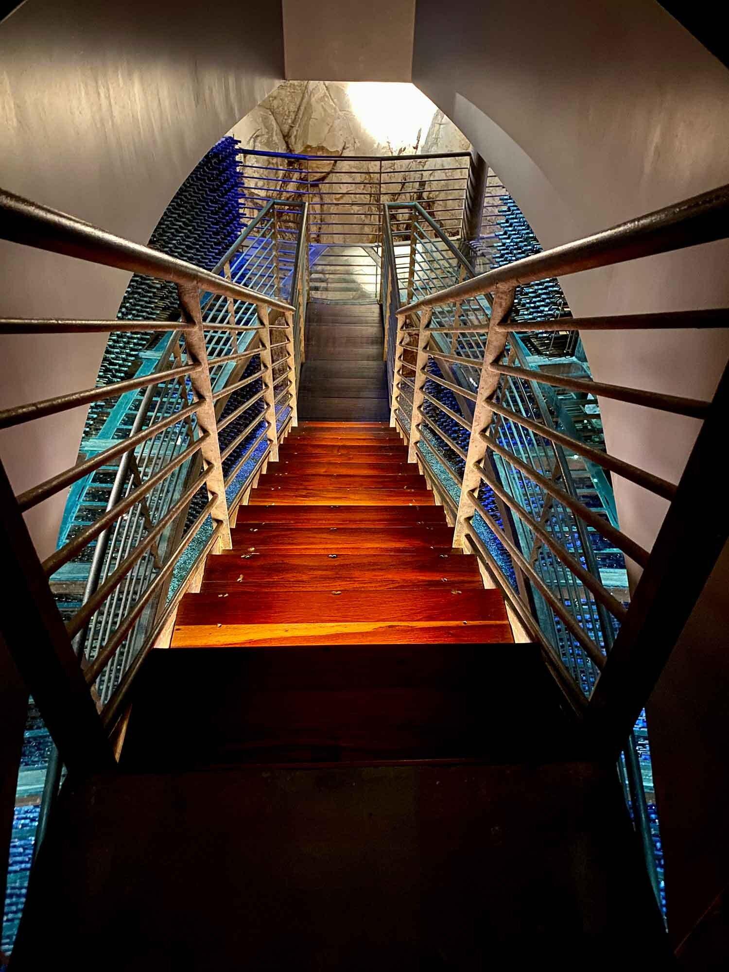 Clos Apalta / Lapostelle private wine cellars