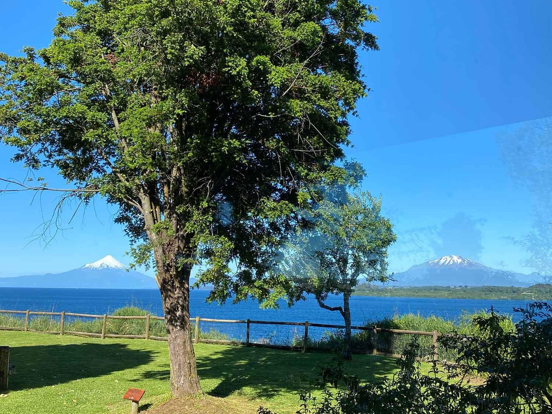 Lake views at Hotel Cabañas del Lago Puerto Varas, Chile