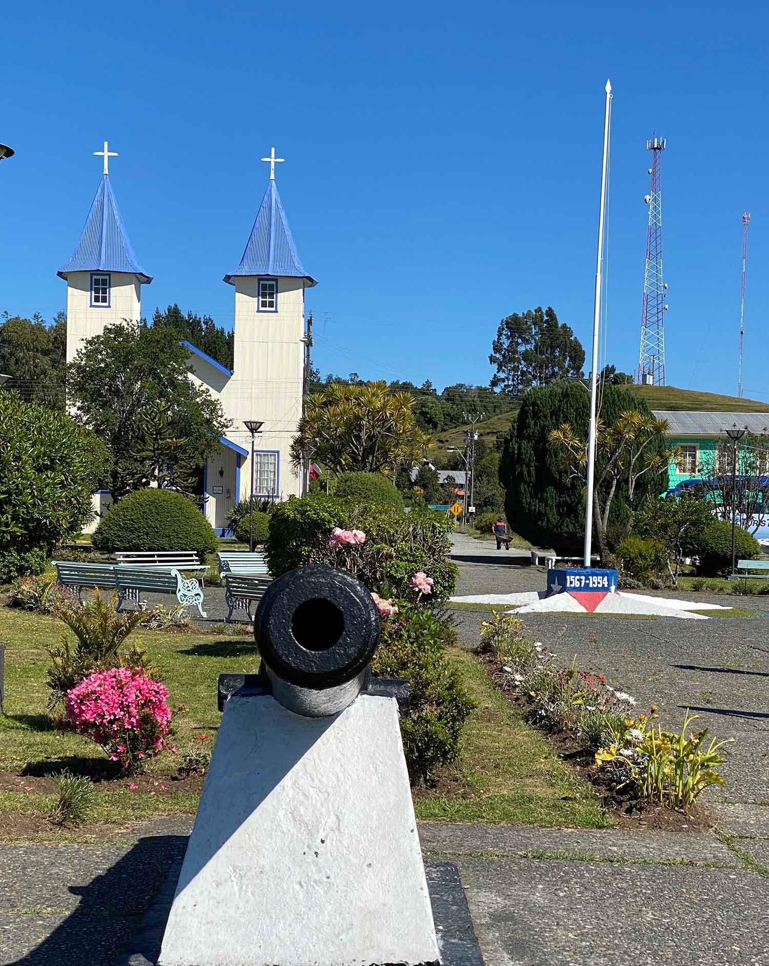 Catedral de Ancud Chiloe Island, Chile