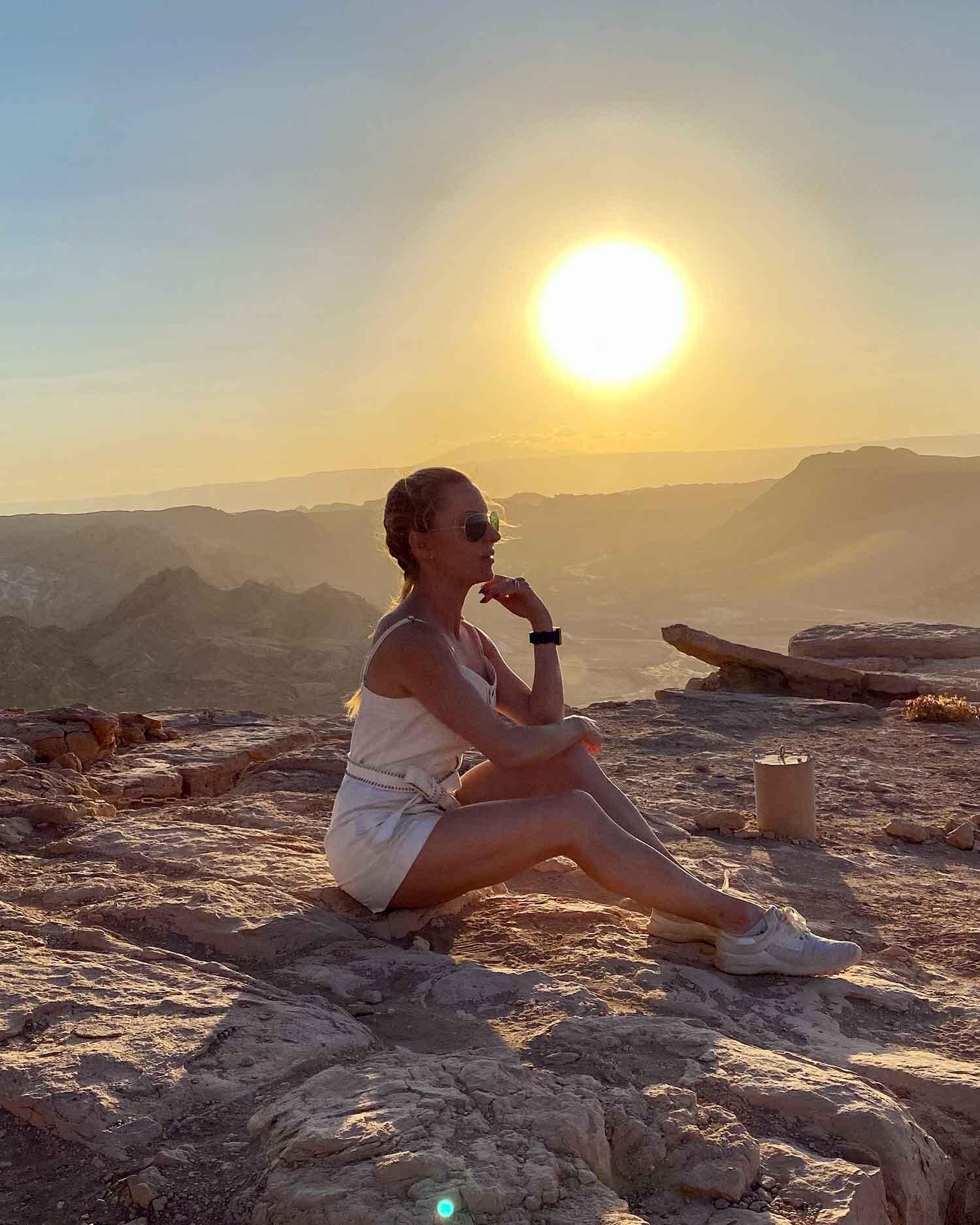 Sunset Atacama Desert Chile