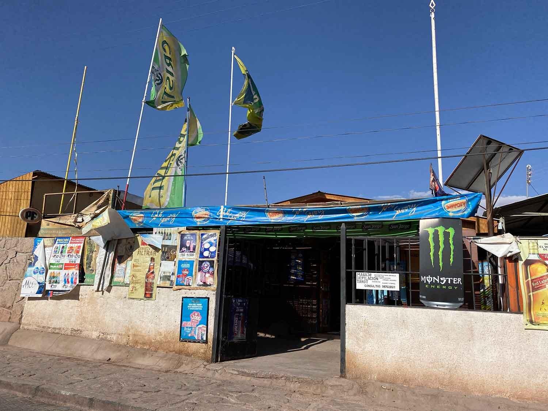 Supermarket San Pedro De Atacama Chile show poverty
