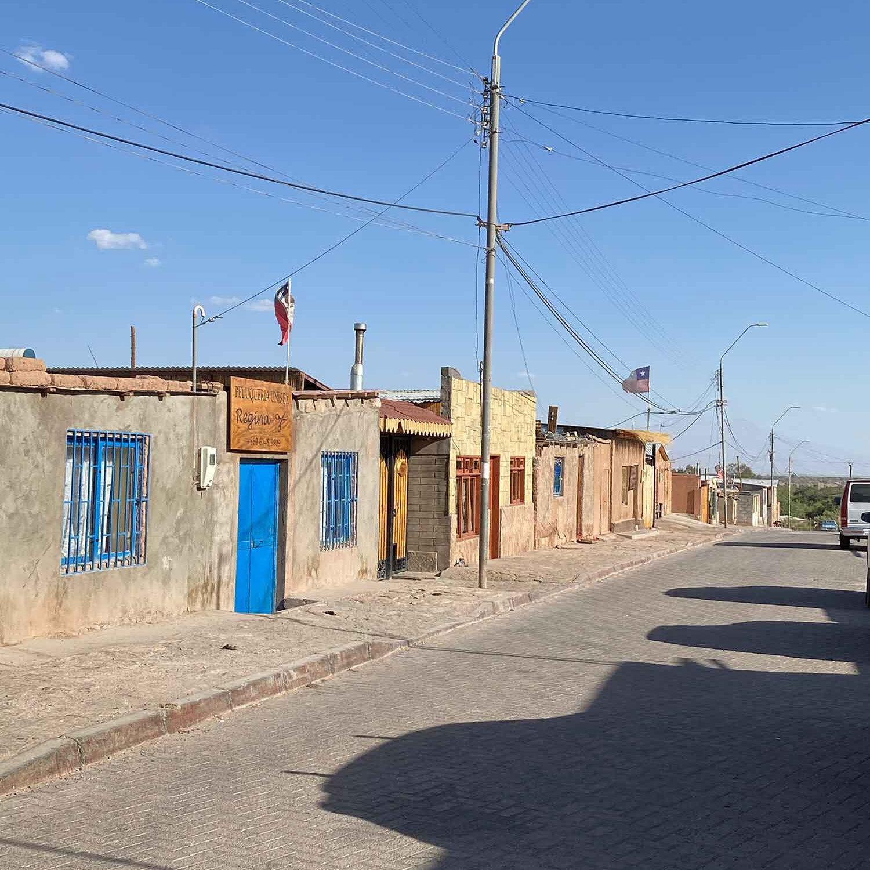 Poor houses San Pedro De Atacama Chile