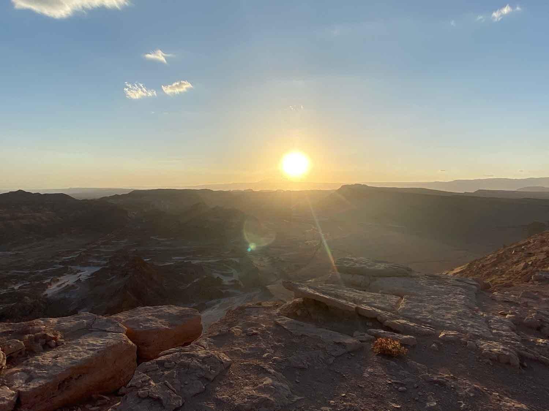 Best sunset desert views Atacama Desert Chile