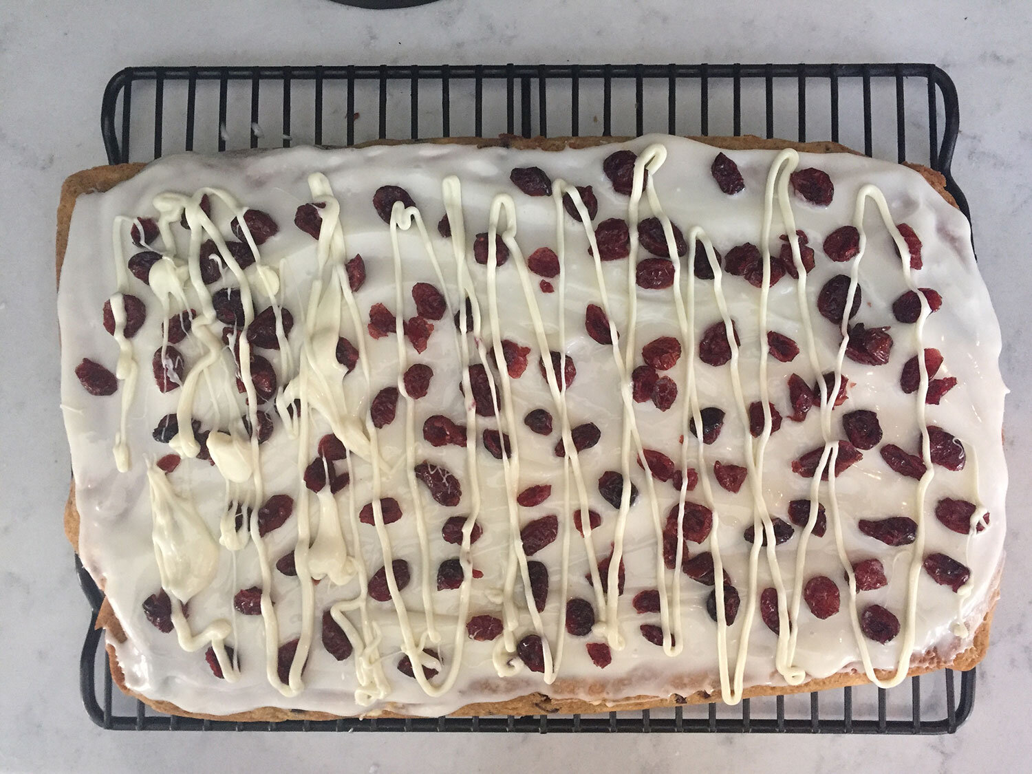Healthy Starbucks cranberry bliss bar dupe low calorie low sugar