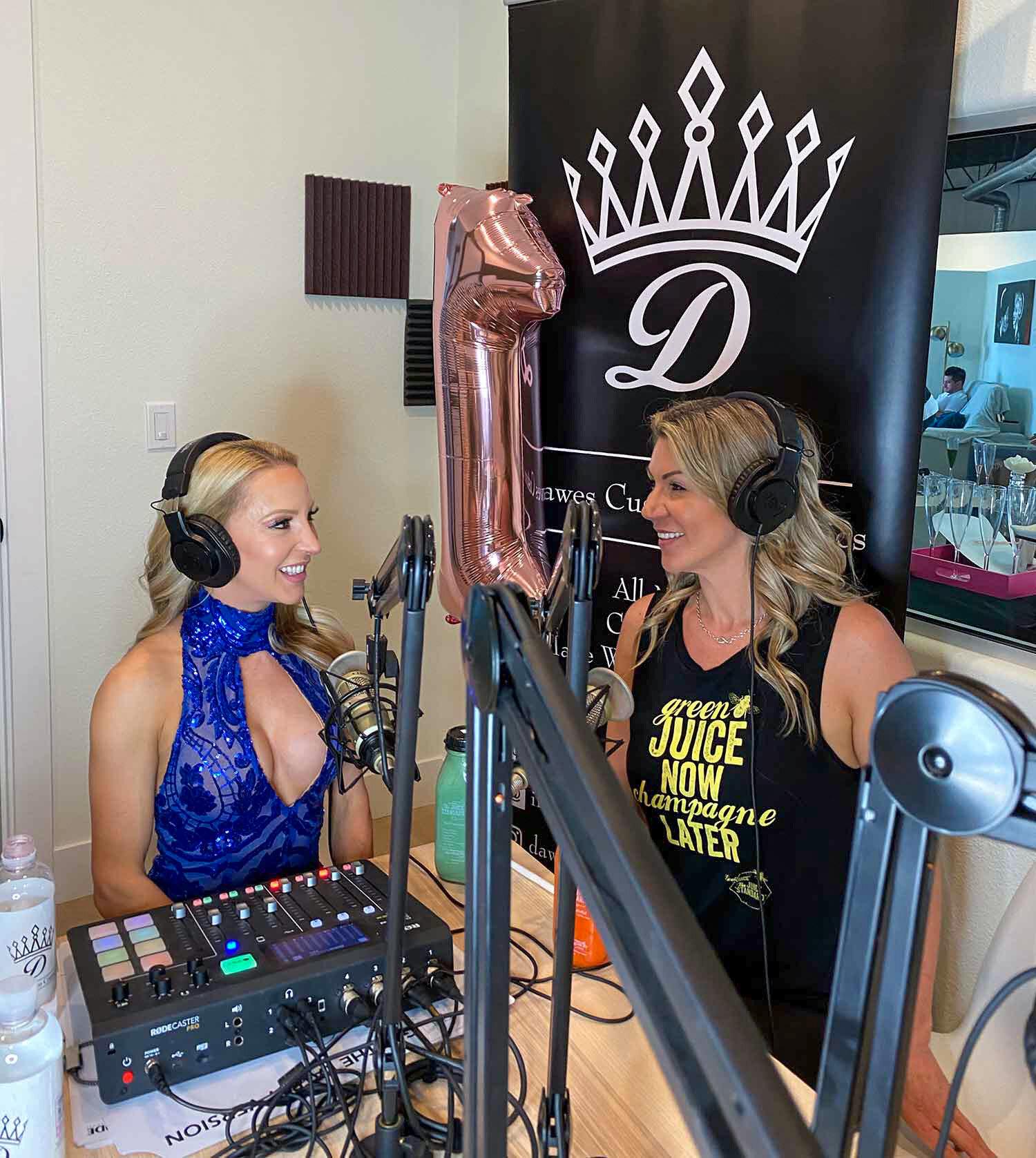 Founder Juice Standard talking Eve Dawes Glamour Gains studio