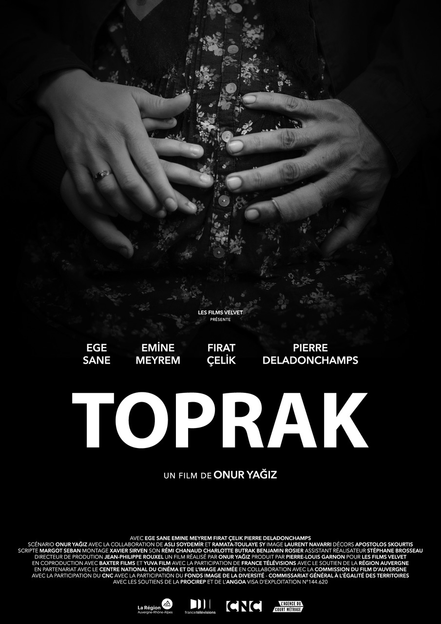 - TOPRAK, 2017 (France), | *UK premiere*Toprak, 8, translates for his parents who can't speak French. Today, he goes to the hospital with them for his mother's second trimester ultrasound. He will be the first one to know if the twin babies are brothers or sisters.Director: Onur YagizLength: 11 minWhere and when: Deptford Cinema, Saturday 2 December, 16:00 - screened alongside Exotique and El Futuro PerfectoPrice and tickets: £4.50-6, buy a ticket here