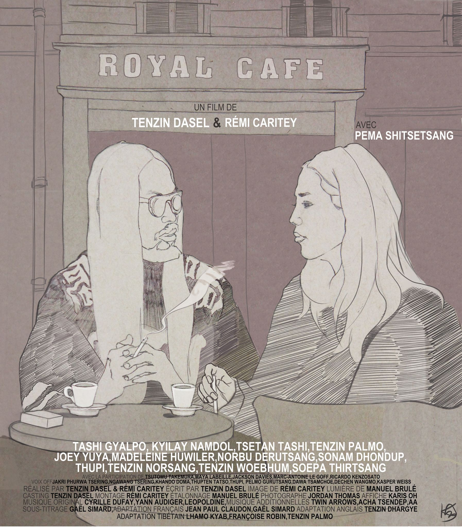 - ROYAL CAFE, 2016 (France)A Swiss-Tibetan filmmaker moves to Paris, where she wants to make a film about the local Tibetan community. To do so, she starts hanging out at Royal Cafe, one of the meeting places for Tibetans in Paris. Here she meets people with different backgrounds and experiences of being part of the Tibetan diaspora.Director: Tenzin Dazel & Rémy CariteyLength: 39minWhere and When: Deptford Cinema, Sunday 2 December, 5.30pm