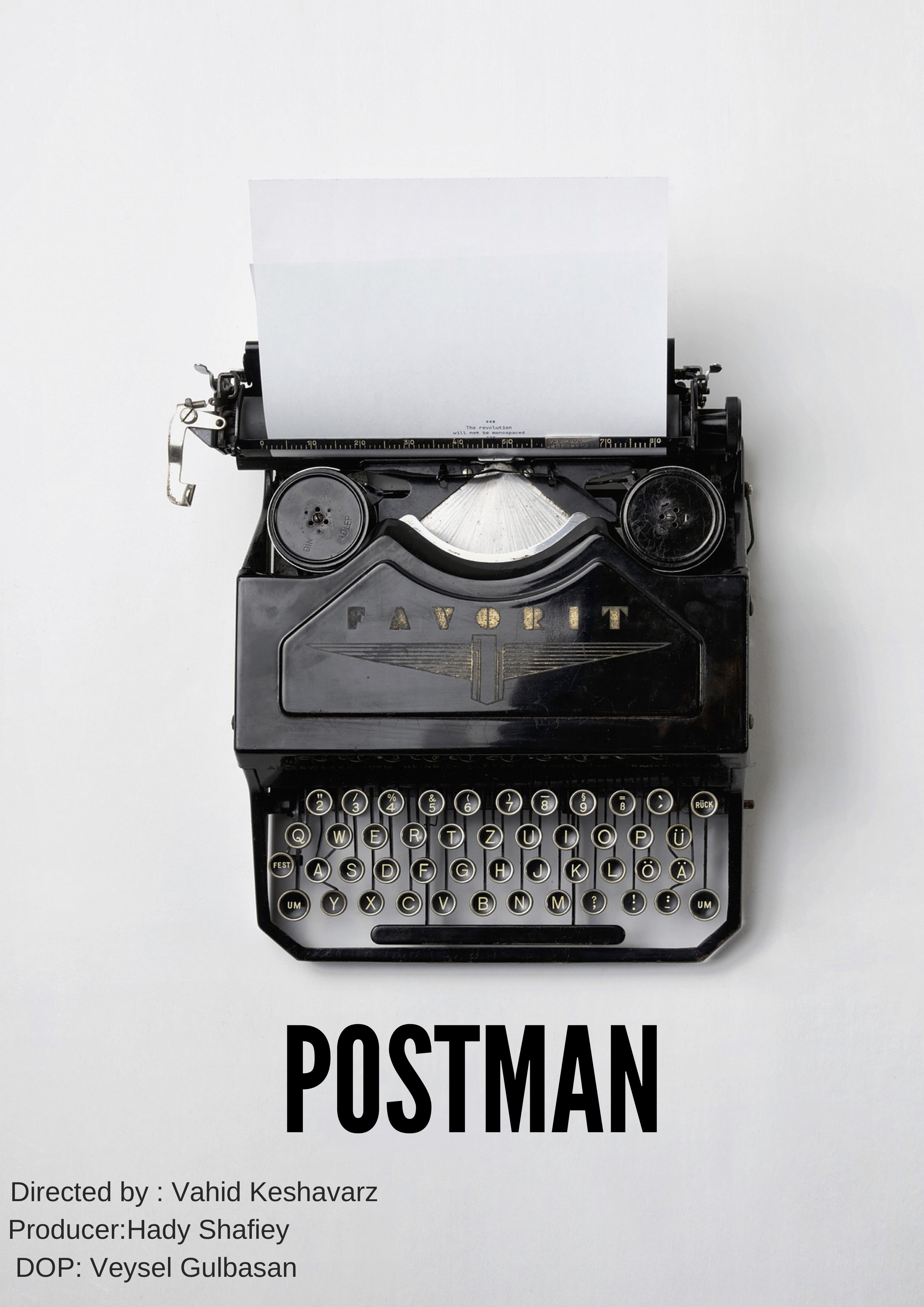 - THE POSTMAN, 2017 (UK)The Postman tells the tale of one Iranian man's daily journey in London, who writes poetry while delivering the words of others.Director: Vahid KeshavarzLength: 7minWhere and when: SOAS, Thursday 29 November, 7.30pmScreened alongside Little Pyongyang and Our Kind of Love. Tickets here