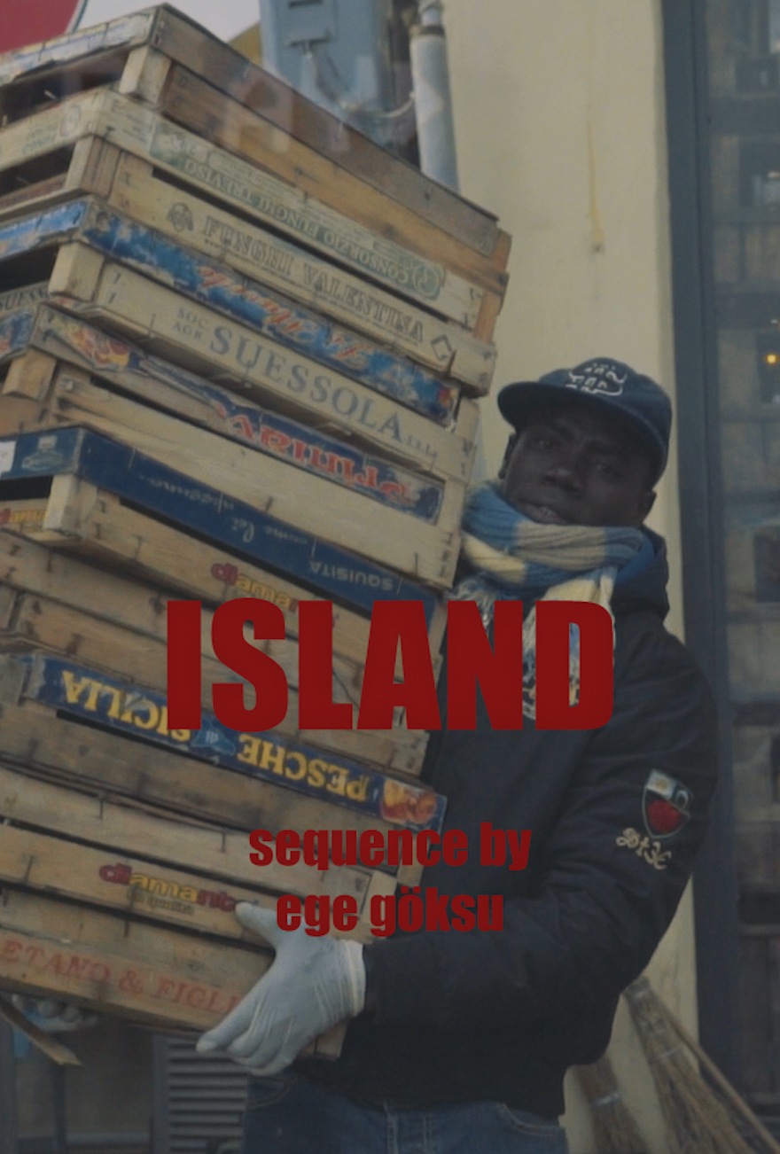 - ISLAND, 2018 (Italy)A migrant in Italy relies on Skype and phone calls to maintain relations with his family.Director: Ege GöksuLength: 3minWhere and When: Peckham Springs, Wednesday 5 December, 7.30pmScreened alongside Twin Flower. Tickets here