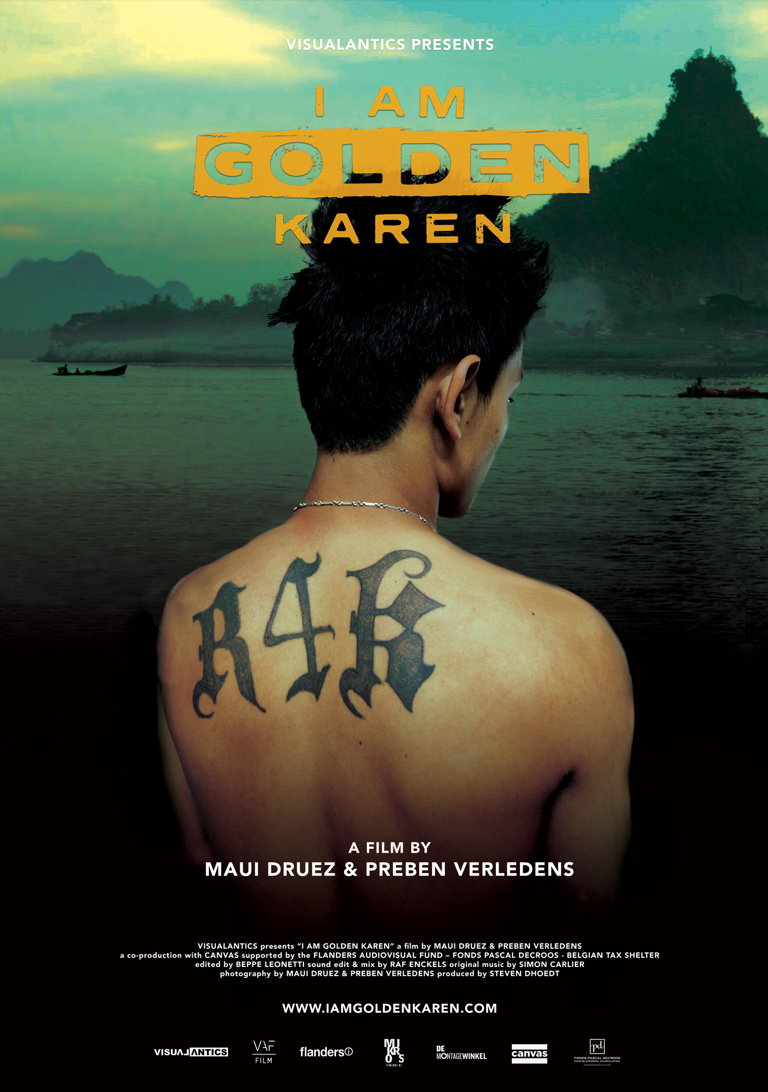 - I AM GOLDEN KAREN, 2018 (Thailand, Burma)I Am Golden Karen tells the story of Thaawa, a young rapper from Burma's Karen State who is part of an entire generation that has grown up in Thailand but nurtures a strong desire to return to their motherland. The film follows Thaawa as he negotiates his identity from being a young migrant arriving in Bangkok to becoming a father. He questions his responsibilities towards the family and his desire to both settle in Thailand and return to Karen State.Directors: Maui Druez, Preben VerledensLength: 1h 13minWhere and When: Genesis Cinema, Tue 4 Dec, 6.45pm